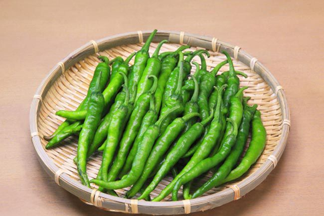 hari mich ke fayde green chilli benefits
