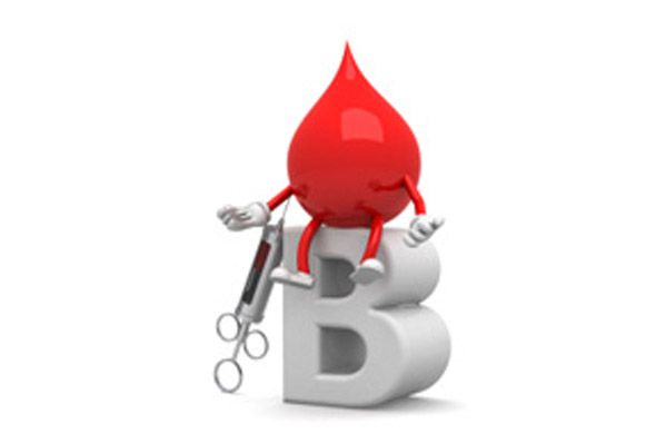 blood group b
