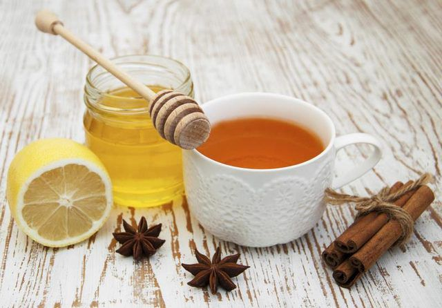 honey cinnamon and lemon