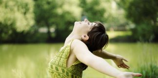 stress-free-woman