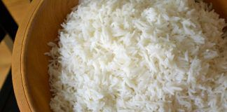 stale rice