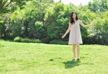 Walking-on grass