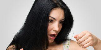 टूटे हुए बालों tute huye balon ka prayog in hindi